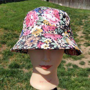 New Ladies Dark Hawaiian BLING Bucket Hat